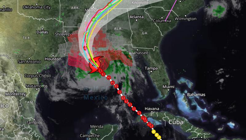 El huracán Ida catastrófico en la puerta de Luisiana a las 7 a.m.