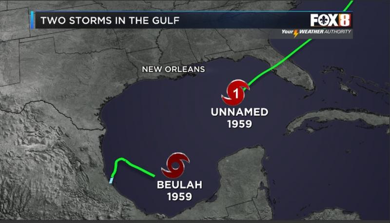 ¿Dos tormentas en el Golfo de México?